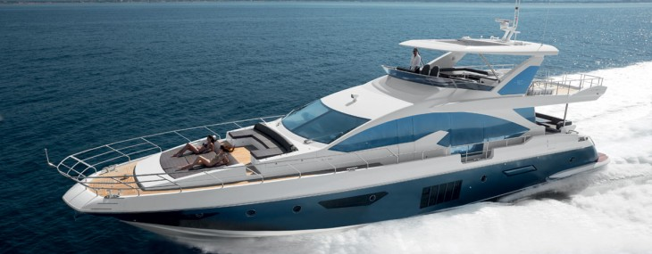 Worldwide Premiere of the All-new Azimut 80 Yacht at the Cannes Boat Show