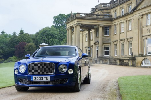 Bentley's Cars Ready for The Queen's Coronation  in the Gardens of Buckingham Palace