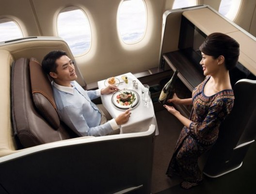 Travel in the lap of luxury – BMW designs First Class cabins for Singapore Airlines