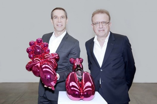 Jeff Koons designs Balloons Venus sculpture for Dom Pérignon Rose champagne