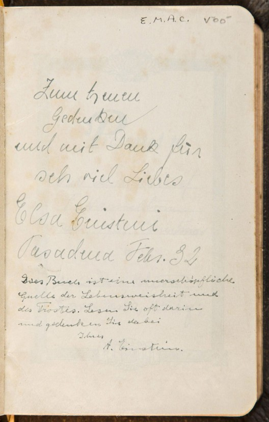 Bible Notated by Einstein Auctions for $68,500, Far Exceeds Pre-Sale Estimates
