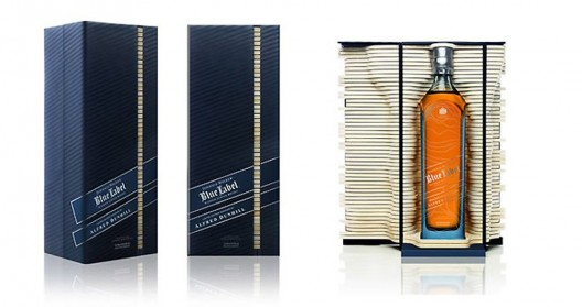 Johnnie Walker Partners with Alfred Dunhill on Special Edition Blue Label