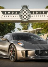 Jaguar At Goodwood Festival of Speed Drove C-X75
