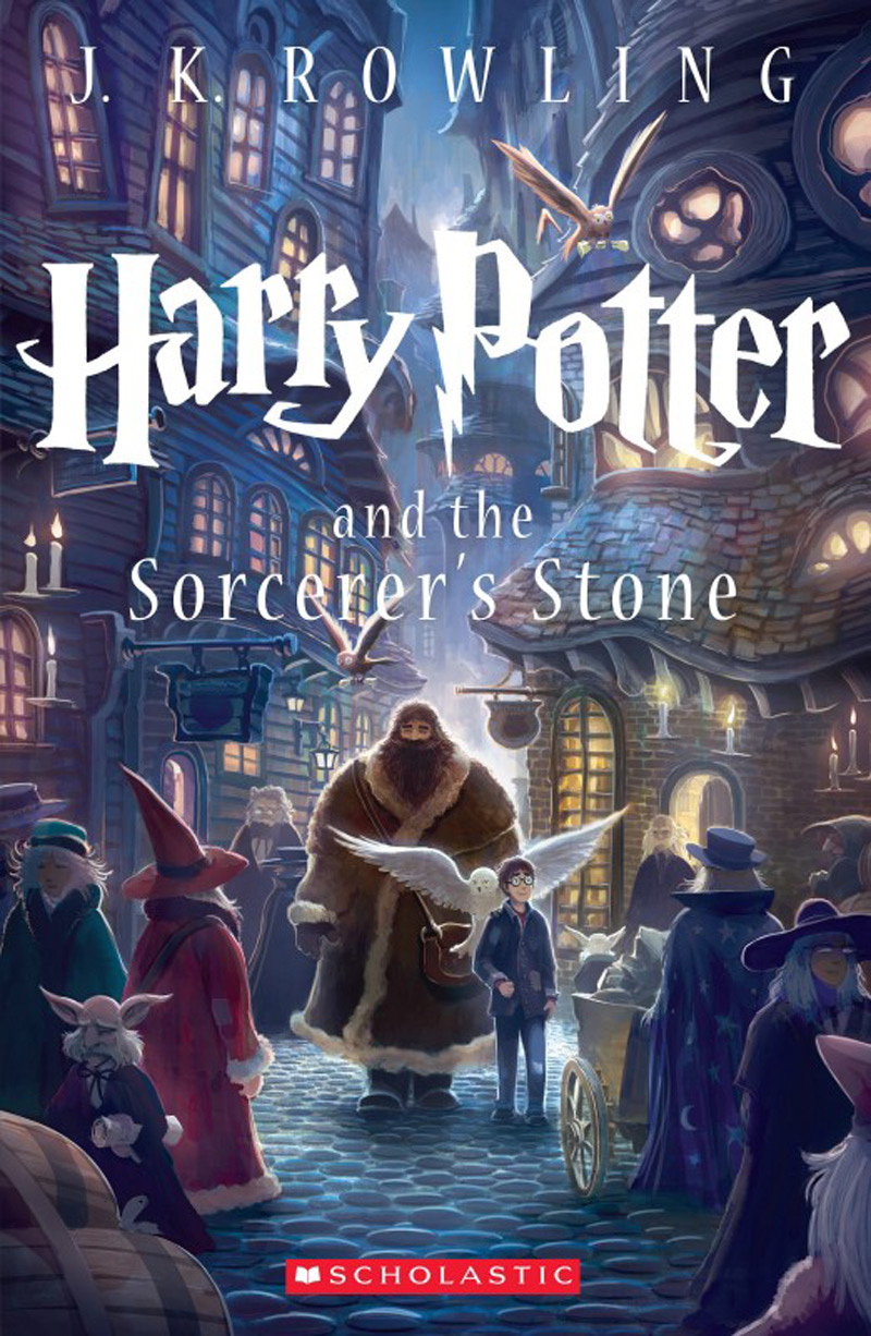 First Illustrated Book Cover ~ New covers of harry potter by kazu kibuishi extravaganzi