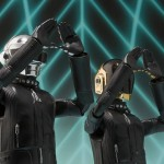 Daft Punk as Robotic Action Figures