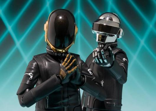 Daft Punk as Robotic Action Figures