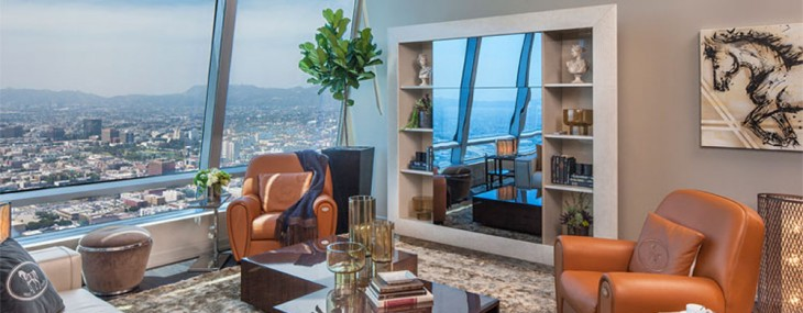The Ritz-Carlton At L.A. LIVE Unveils Fendi Casa Penthouse
