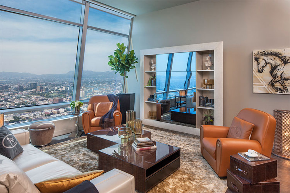 $3.6M Fendi Casa Penthouse for Sale at The Ritz-Carlton Residences at L.A. LIVE
