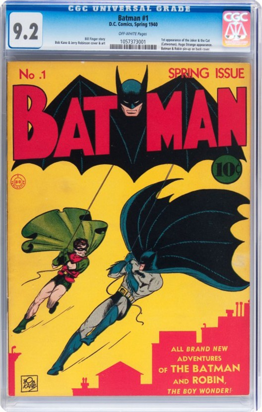 Batman #1 and Frank Miller's Dark Knight Returns #2 Highlight of the Heritage Summer Auction
