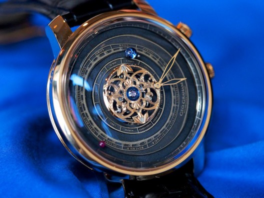 Graham Tourbillon Orrery pays ode to the first astronomical timepiece of its kind