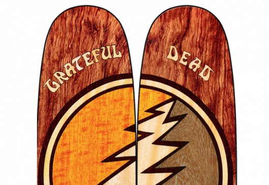 Limited-Edition Grateful Dead Skis