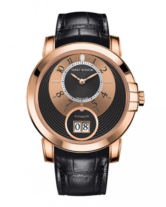 New Harry Winston Only Watch Midnight Big Date 2013
