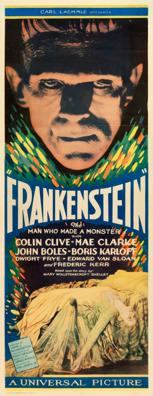 Rare Frankenstein Insert May Bring $100,000+ To Lead Our July 27-28 Movie Poster Event