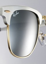 Iconic Ray-Ban Clubmaster Gets a New Look in Aluminum