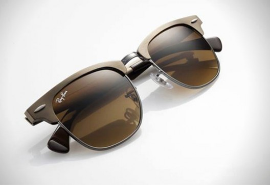 A 1950?s Inspired Look: The Ray-Ban Clubmaster Aluminium Sunglasses