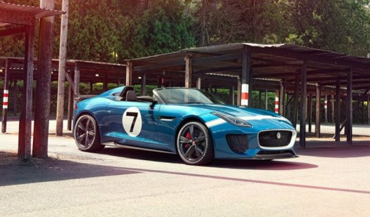 Jaguar Project 7 Evokes the Brand's Glory Days