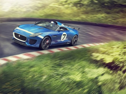 Jaguar Project 7 Evokes the Brand's Glory Days