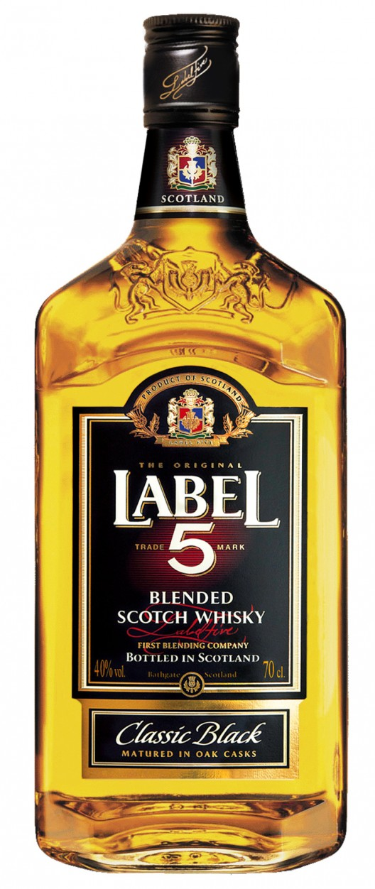 Two Gold Medals for LABEL 5 - Leading Scotch Whisky Brand