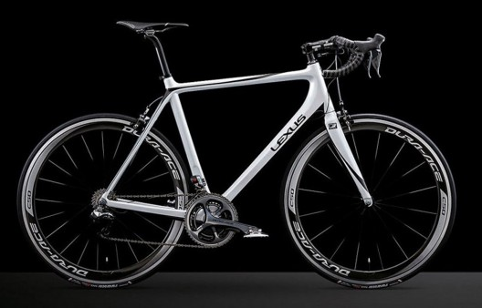 New Lexus F Sport Carbon Fiber Road Bike