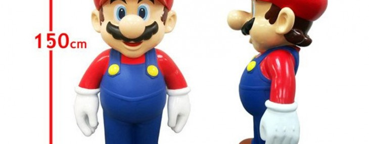 Life-size Mario is up for $2900 on Amazon Japan
