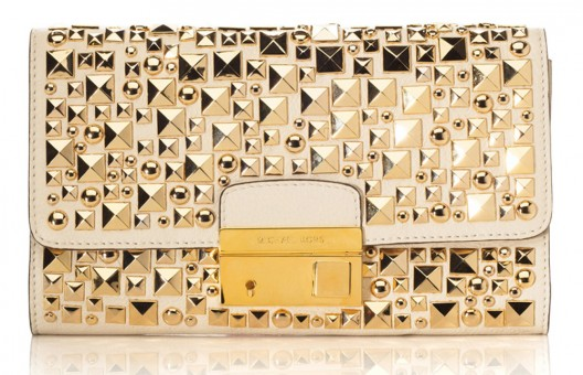 Rock the Michael Kors Gia Clutch This Summer