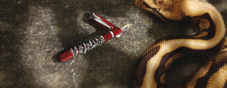 Montegrappa Snake 2013 Hand Painted Pen Collection
