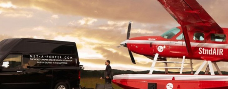 Net-A-Porter hires seaplanes to fly in same-day deliveries to Hamptons