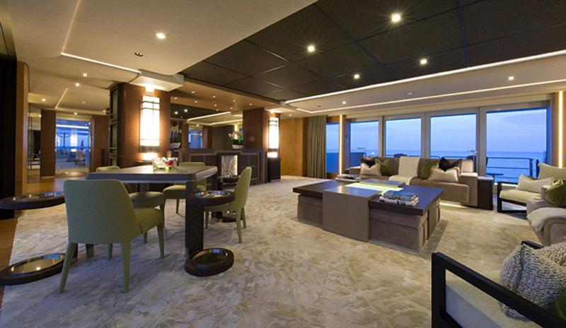 A Peek Inside The 300 Million Nirvana Megayacht Which Is Up For Sale
