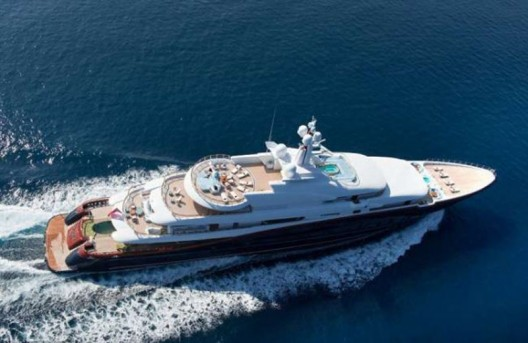 A peek inside the $300 million Nirvana megayacht which is up for sale