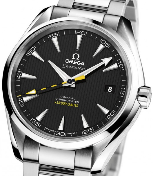 Omega Seamaster Aqua Terra > 15,000 Gauss anti-magnetic watch for the journey to the center of the earth