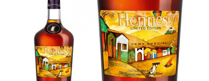 Hennessy V.S Limited Edition Bottle by Os Gemeos