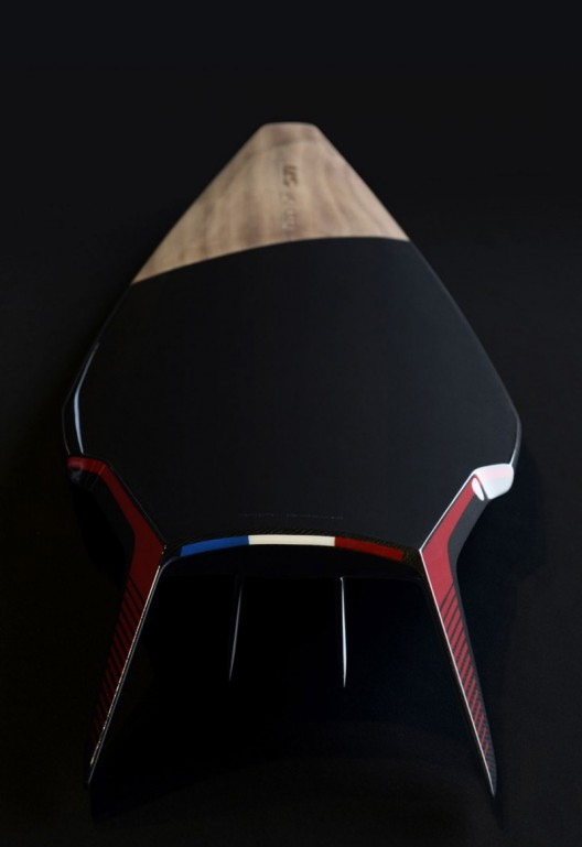 French company Peugeot presented GTi a surfboard