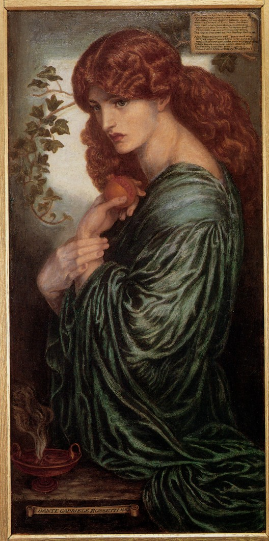 Proserpine Painting by Dante Gabriel Rossetti Could Fetch £1.8 Million at Sotheby's