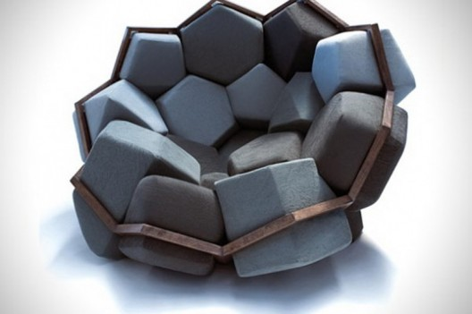 Quartz chair is one of those intriguing and surprising pieces of furniture
