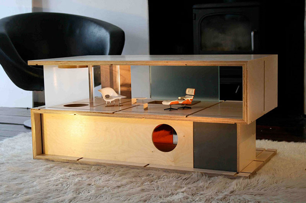 Qubis Modern Doll Houses and Furniture in e by Amy