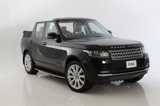 Range Rover Autobiography Convertible by American Newport Convertible Engineering