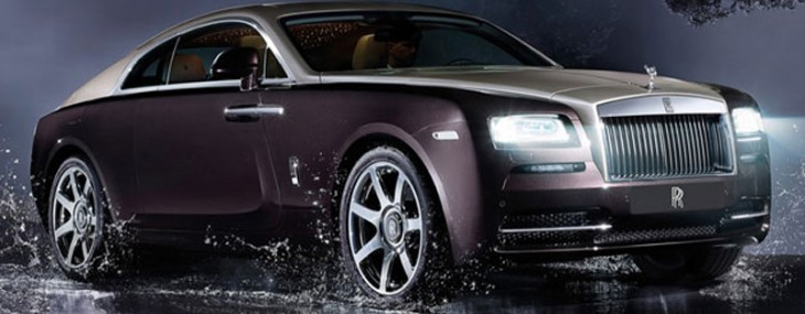 Catch the First Rolls-Royce Wraith Driving Into a City Near You