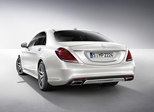 2014 Mercedes Benz S-Class accessories unveiled