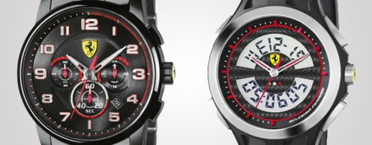 Scuderia Ferrari Orologi line of watches are available
