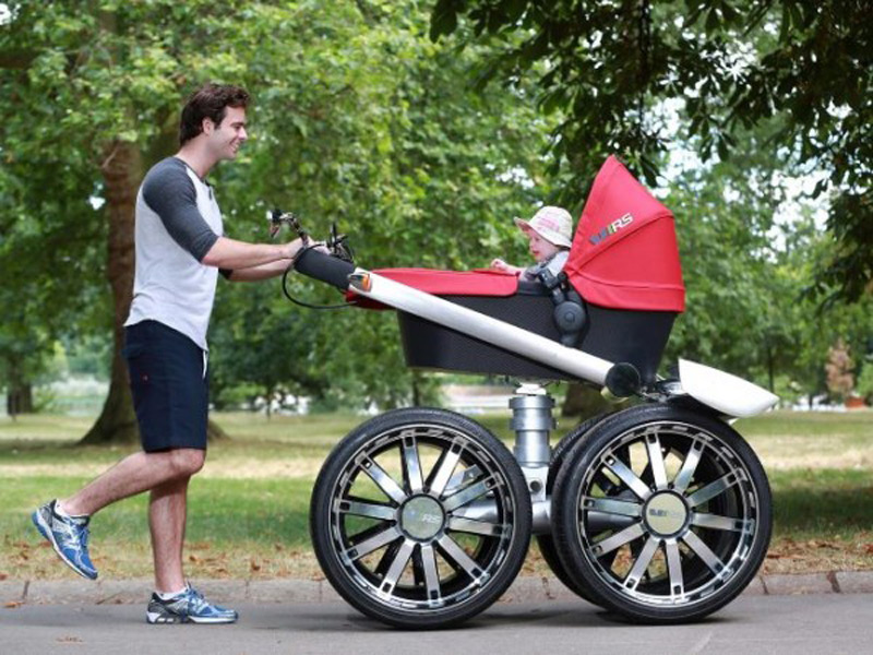 Skoda Creates The Coolest Pram Extravaganzi