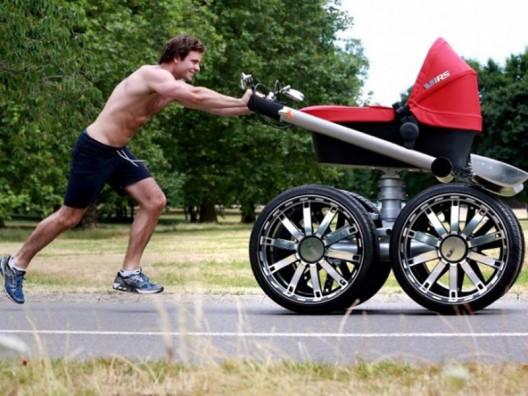 Skoda creates the coolest pram in the world
