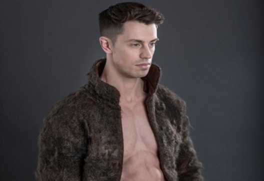 'Man-Fur' - Bizarre Coat Made From Male Chest Hair