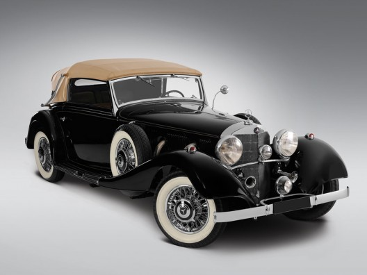 RM Auctions will offer a spectacular single-owner collection of 74 historic Mercedes-Benz cars