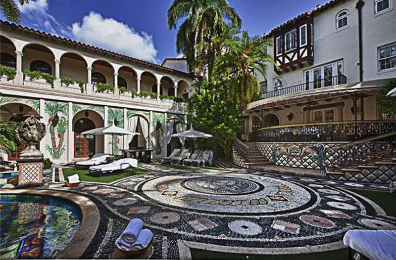 Gianni Versace's world famous Versace Mansion
