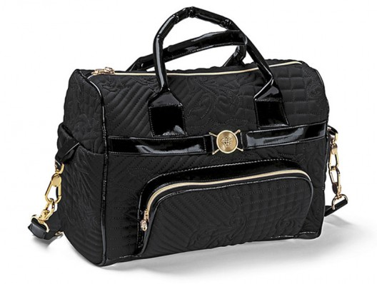 Versace Book Plus comprising of a stroller, bassinet and bag is exclusive to Harrods