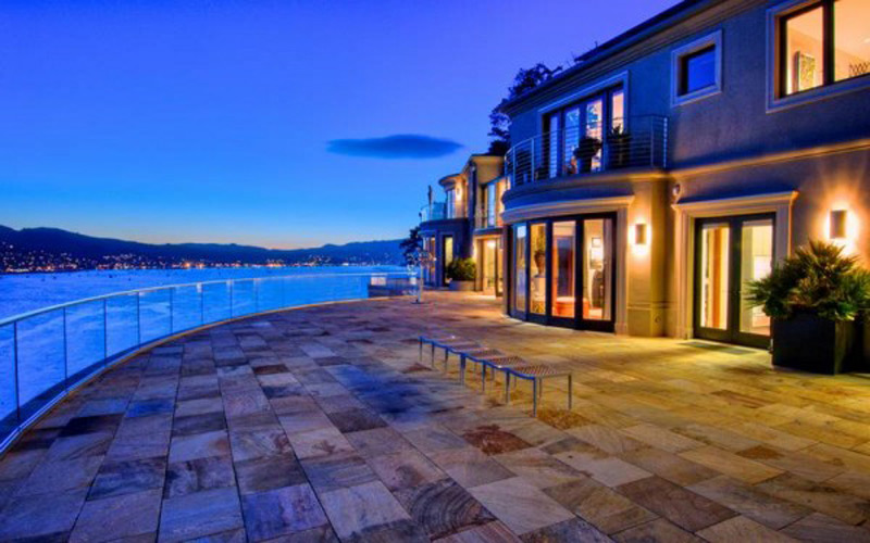 Villa belvedere finest home in northern california at for Luxury houses in california