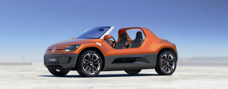 Volkswagen Buggy Up! Goes Under Production