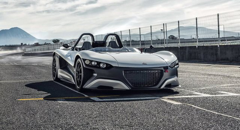 Powerful Mexican Roadster