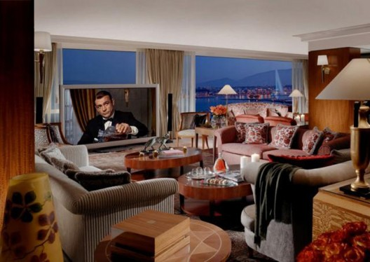 Spend A Night In Royal Penthouse President Wilson Hotel In Geneva