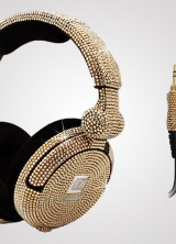 iWave Crystal Headphones with 6,500 Swarovski Crystals